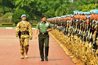 1.169 Prajurit TNI Tiba di Tanah Air Usai Misi Perdamaian di Lebanon