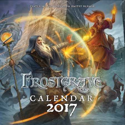 Frostgrave: Calendar 2017
