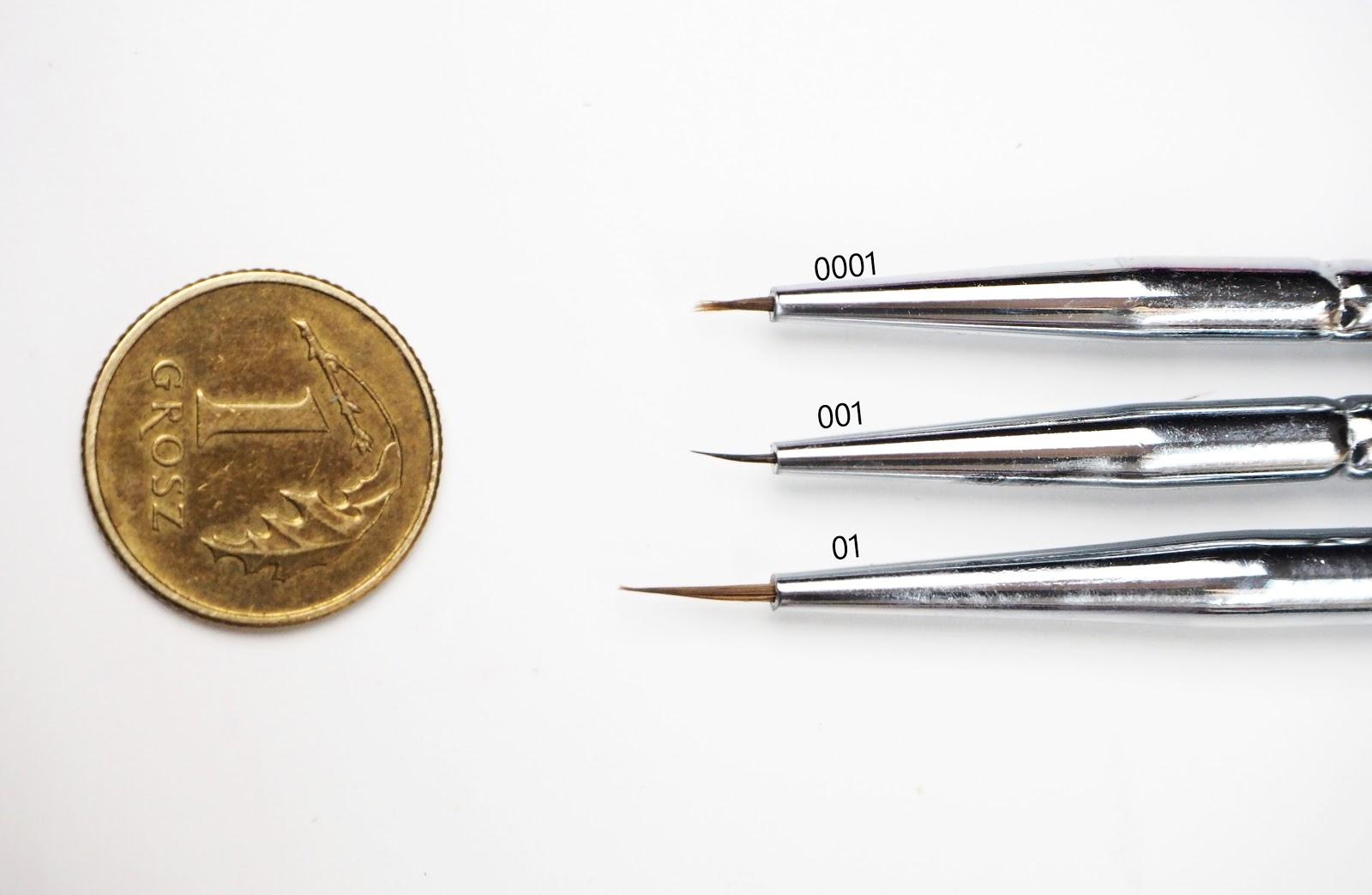 semilac porównanie pędzleków