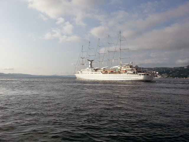 Cruise Ship Club Med 2 in Bergen, Norway