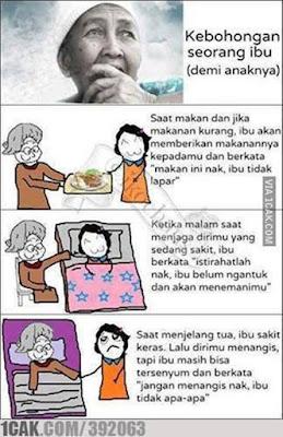 7 Meme 'Terima Kasih Ibu Untuk Kebohonganmu' Ini Bikin Senyum Tersedu-sedu