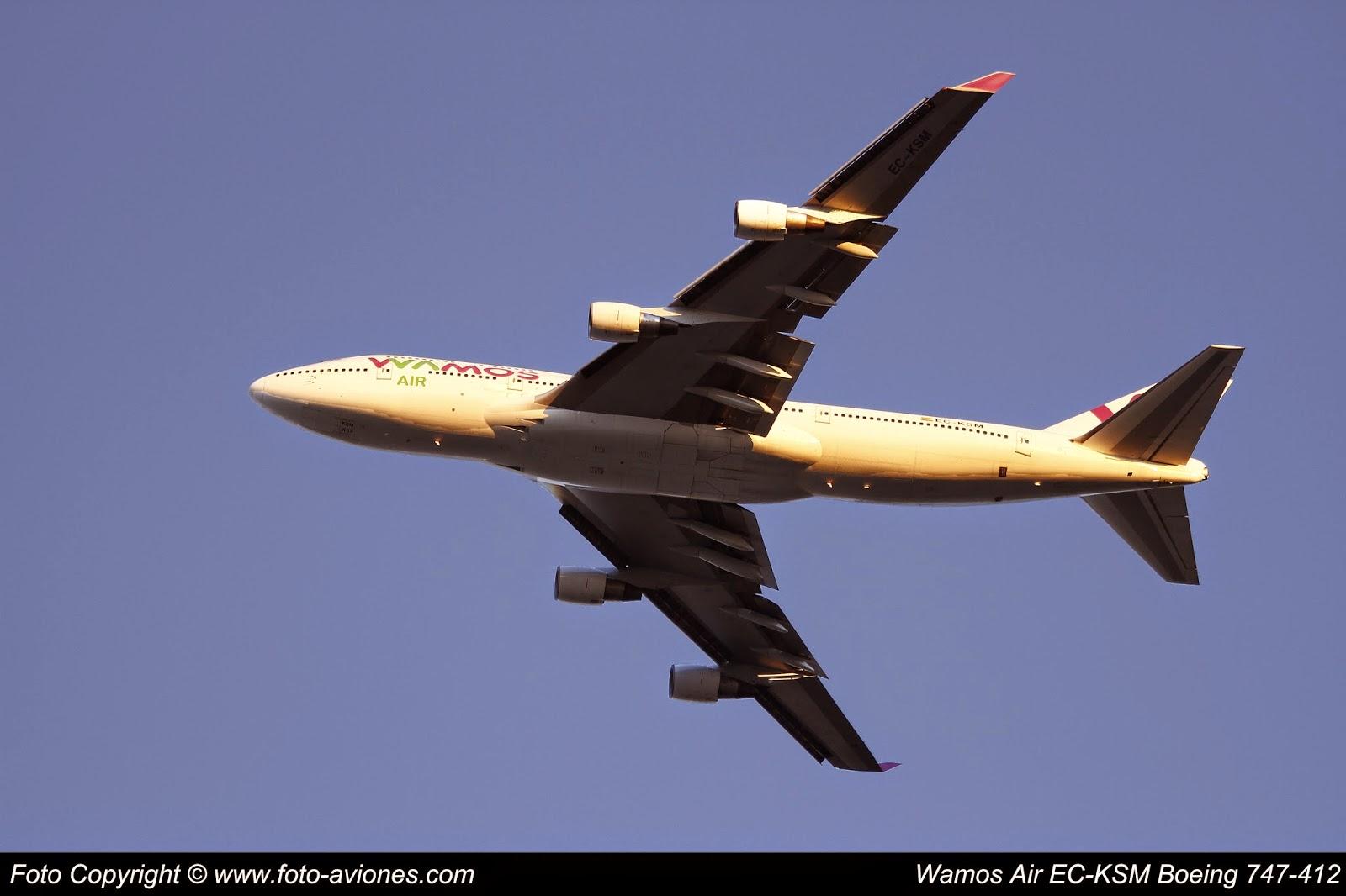 Boeing 747 / EC-KSM