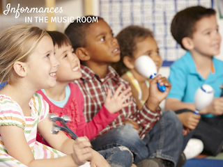 Informances in the music room: Great ideas for showing parents what happens in their child's music class!