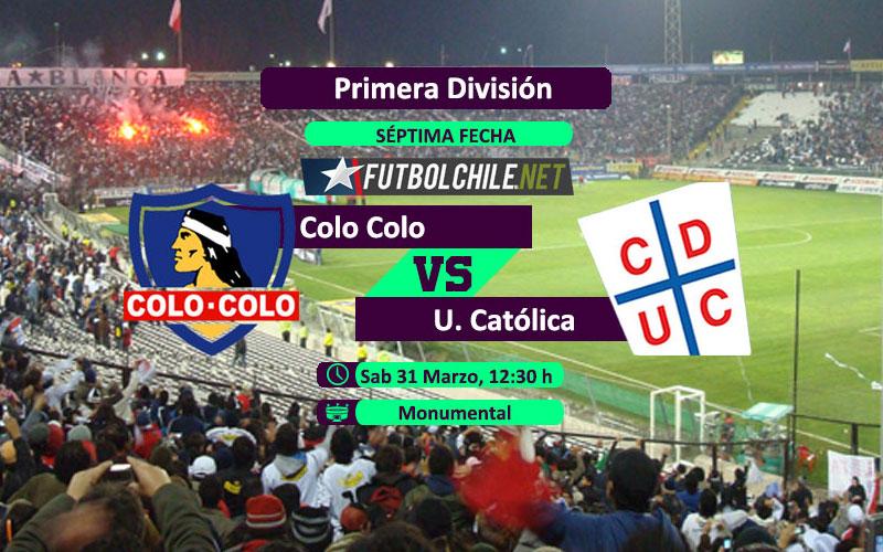 Colo Colo vs Universidad Católica: Previa, horario, dónde ver en vivo por TV y online por la Primera División