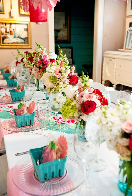 Oh One Fine Day: Beautiful Bridal Shower Ideas
