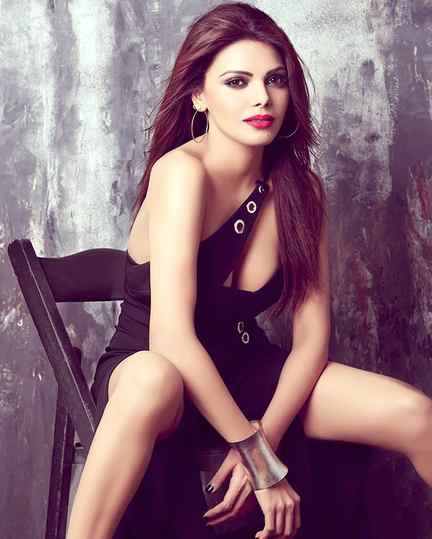 Sherlyn Chopra Poses as The Knight In Shining Armour