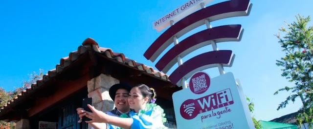 Habitantes de 17 municipios de Cundinamarca recibieron Zonas WiFi Gratis para la gente