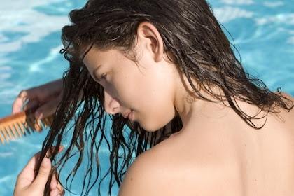 Cara Mengatasi Rambut Lengket, Kering Dan Kaku Sesudah Berenang