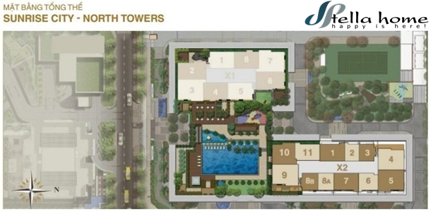 Sunrise City North – Dự án chung cư sang trọng tại quận 7