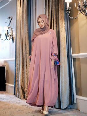 Inspirasi Model Baju Lebaran 2018 ala Hijab Blogger