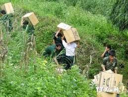 Bắt giữ lượng hàng lớn nhập lậu từ Trung Quốc