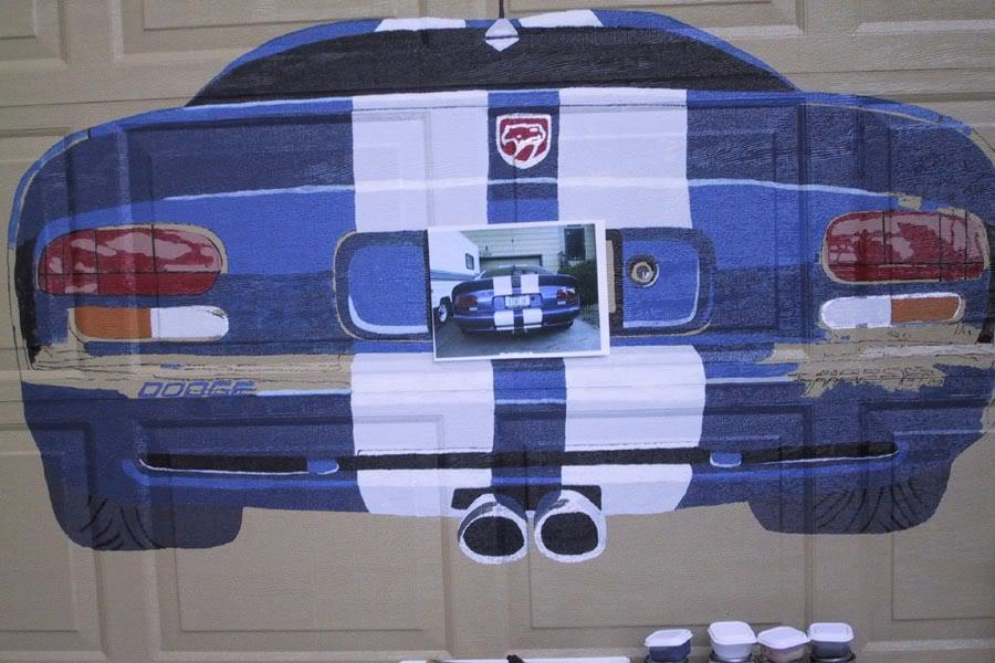 Decorating Diva Tips: Paint A Mural on Your Garage Door ... on Garage Door Paint Ideas  id=89819