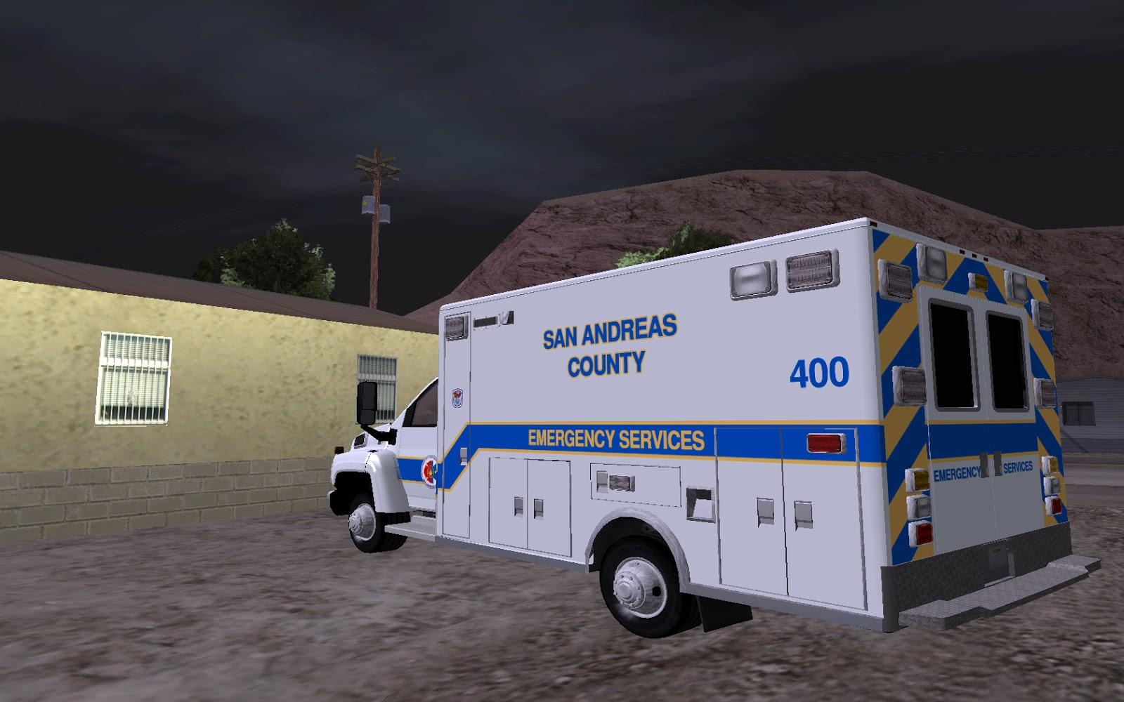 Chevrolet C4500 Ambulance - Gta San Andreas - Games - The