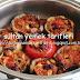 fırında etli patlıcan oturtma