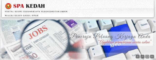 Rasmi - Jawatan Kosong (SPA Kedah) Terkini 2019