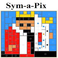 Sym-a-Pix Puzzle