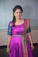 Shilpa Chakravarthy in Purple tight Ethnic Dress ~  Exclusive Celebrities Galleries 036.JPG