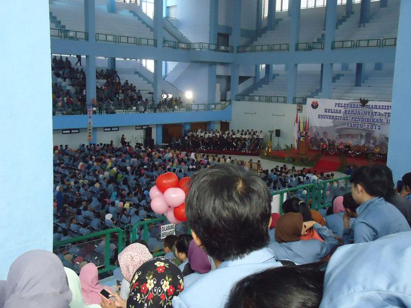 Acara Pelepasan Mahasiswa KKN UPI 2013