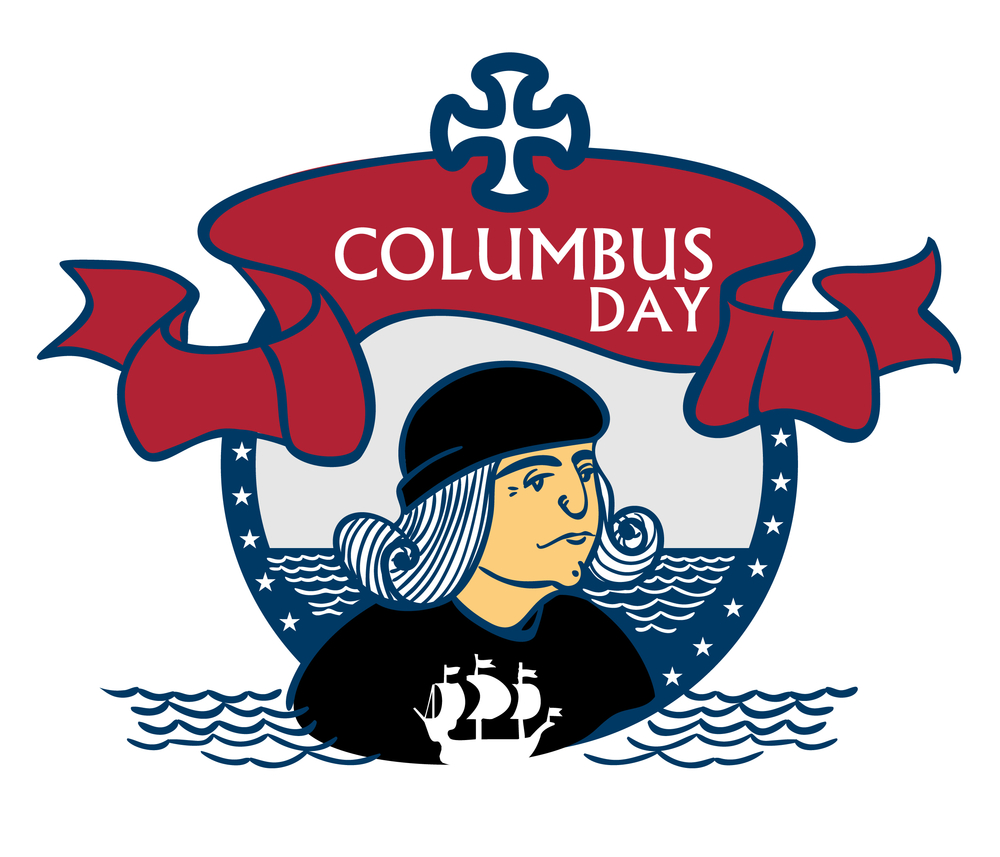 2017 Columbus Day Cliparts