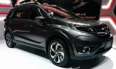 Honda BR-V Modern Steel Metallic Color