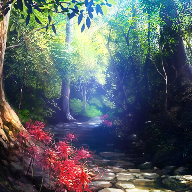 Wood Linger - Kodama Wallpaper Engine