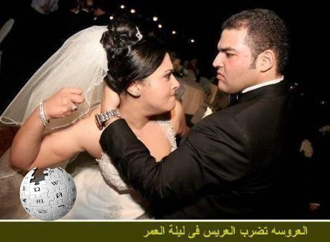 4b31d89ccd548 بعد انتهاء حفل الزفاف ذهب العروسان وهما في قمة السعادة إلى الفندق لقضاء ليلة
