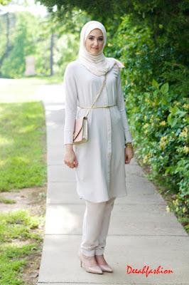 elegant hijab style