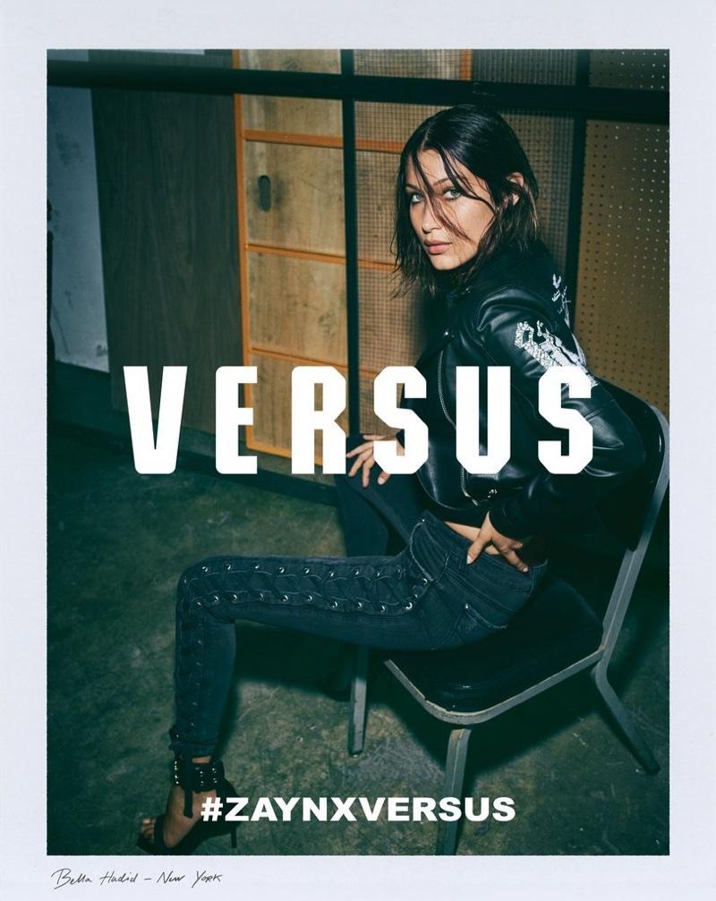 Bella Hadid stars in Versus Versace x Zayn campaign