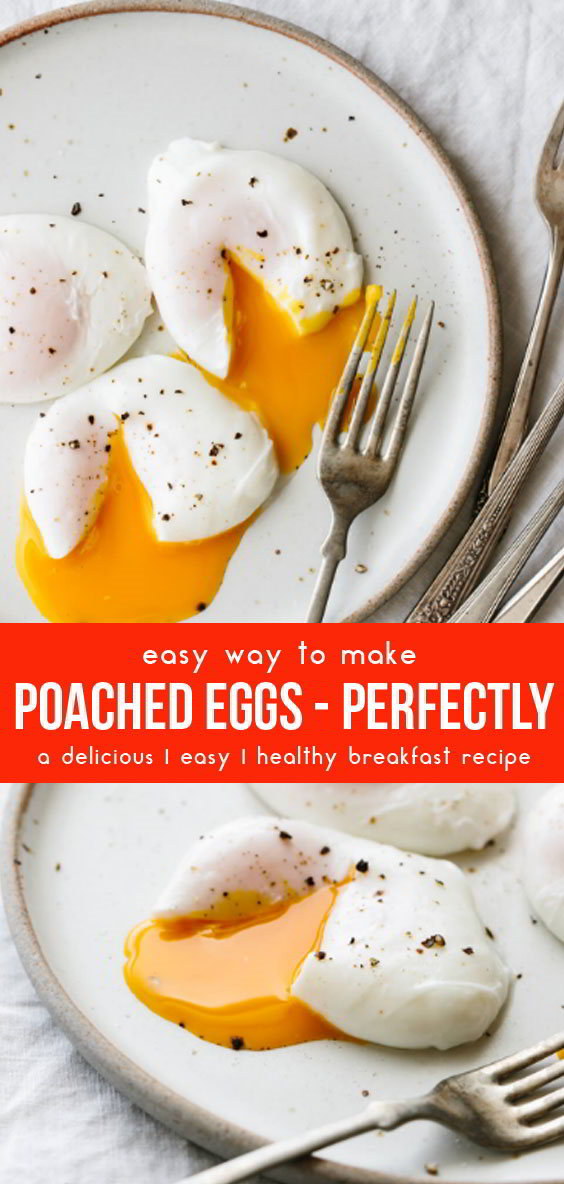 Poached Eggs #breakfastrecipes #easybreakfastrecipes #breakfastideas #eggs #healthybreakfast