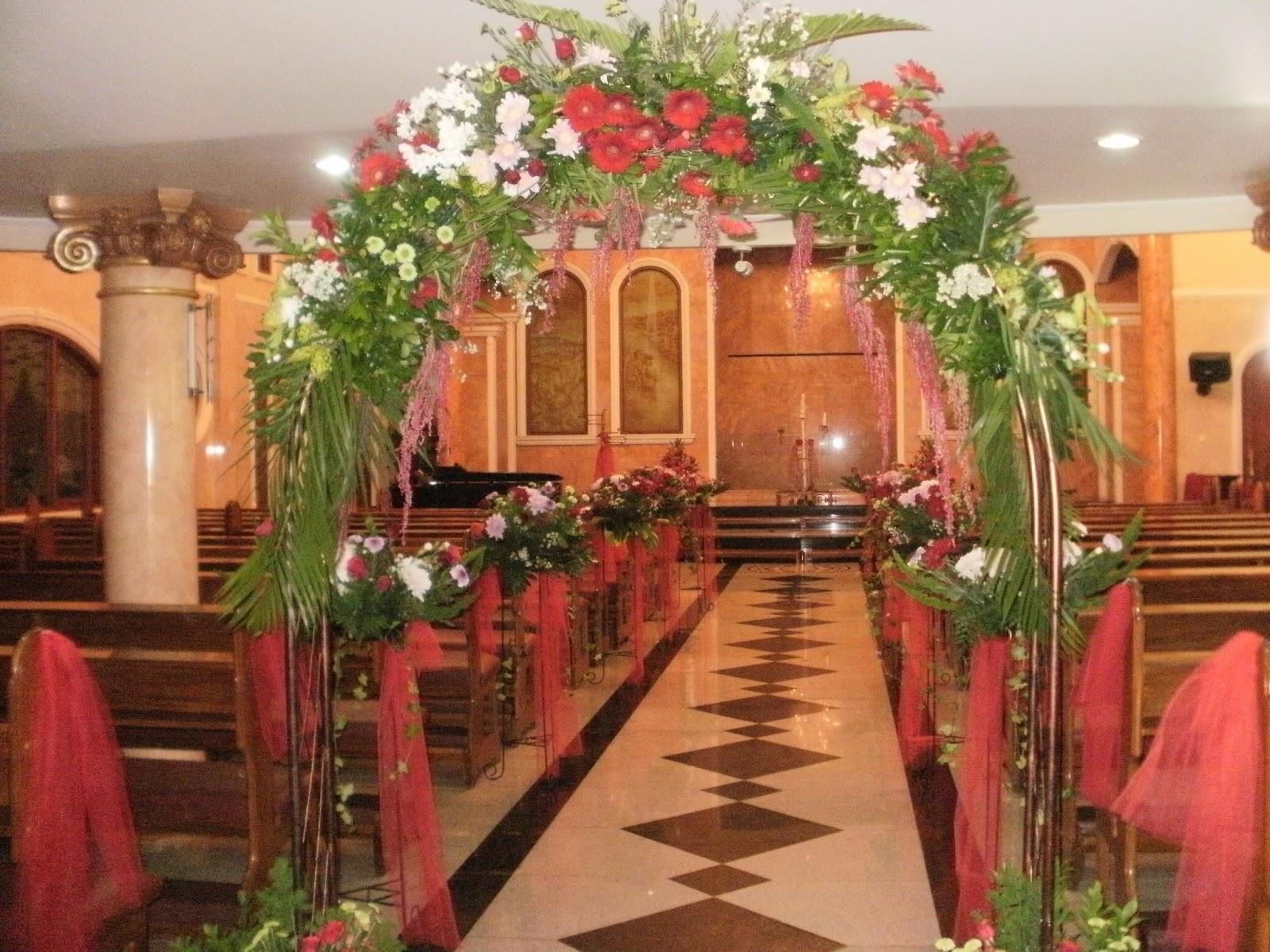 Dekorasi Dekorasi Altar Pernikahan Gereja