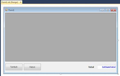 Source Code Contoh From Transaksi Penjualan VB .NET