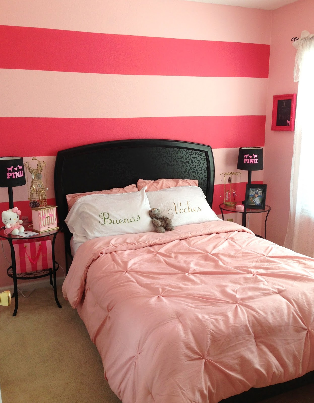 Victoria S Secret Pink Inspired Bedroom