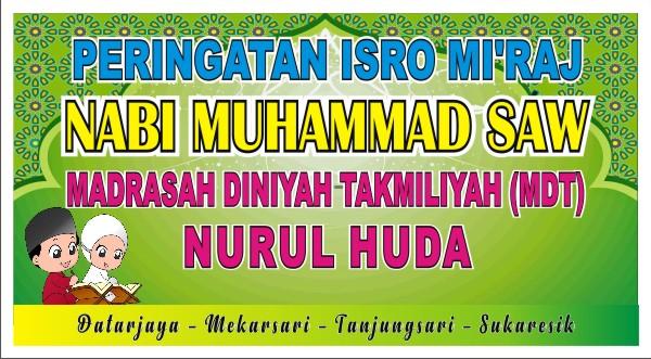 Download Contoh Spanduk Isra Mi'raj 1440 H/2019 M Format ...