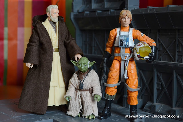 Ben Kenobi Yoda Luke Skywalker