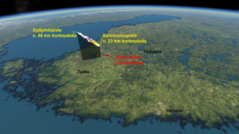 Lappajärvi Meteoriitti