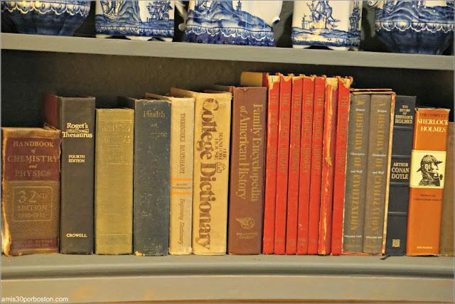 Libros de la Biblioteca del Castillo Hammond, Gloucester