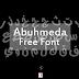 خط Abuhmeda المجاني والمميز