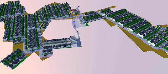 Contoh Site Plan Taman