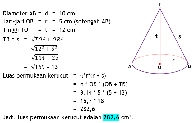 16/09/2020· luas permukaan gabungan kubus dan balok. Contoh Soal Luas Permukaan Bangun Ruang - Barisan Contoh