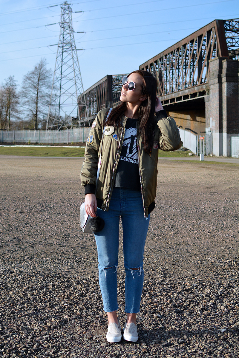 style, ways to wear a bomber