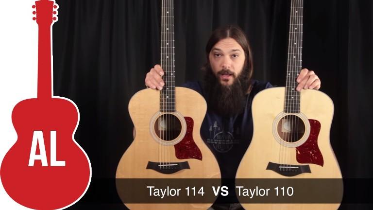 So sánh Taylor 110E và 114E