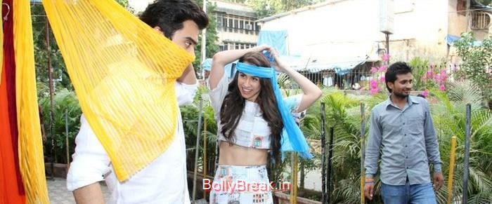Jackky Bhagnani, Lauren Gottlieb, Hot HD Images of Lauren Gottlieb Promoting Welcome To Karachi