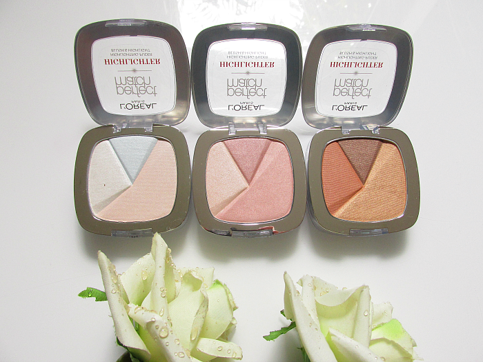Review: L´Oréal Paris Perfect Match Puder Highlighter - Icy Glow, Rosy Glow, Golden Glow