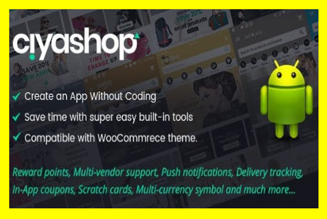 CiyaShop v1 3 2 - Native Android Application based on WooCommerce