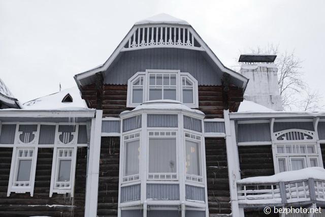 томск деревянный модерн