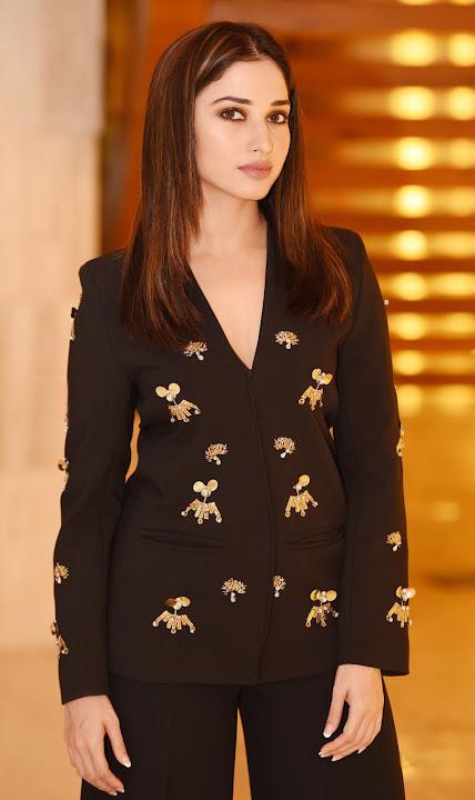 Tamanna in Black Suit