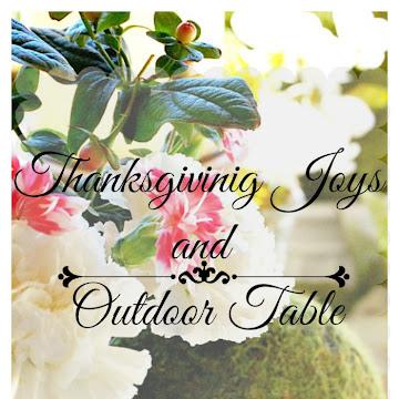 Stunning Thanksgiving Vignettes Day 3