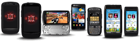 OtterBox cases for Samsung Droid Charge, GALAXY S II, SE Xperia PLAY, Moto ES400, Nokia X7