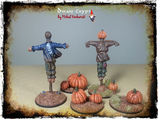 [ENG/PL] Scarecrows! / Strachy na Wróble! (HQ Resin Scarecrow Basing Kit in box)