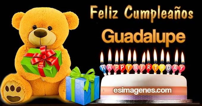 Feliz Cumpleaños Guadalupe